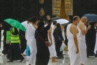 Hujan guyurMasjid Al-Haram