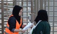 Perempuan Saudi ke Stadion